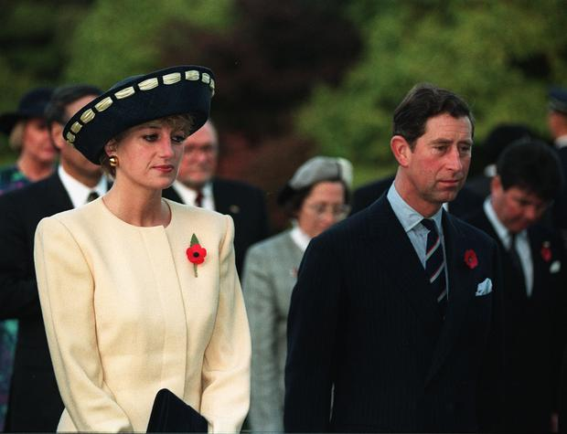 Charles and Diana on their tour to South Korea (Martin Keene/PA)