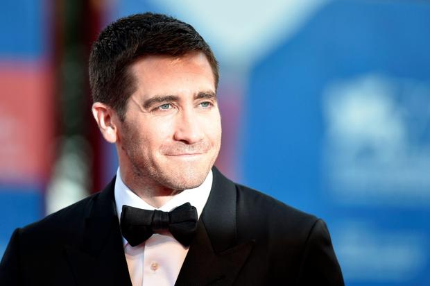 "Actor Jake Gyllenhaal arrives for the premiere of the movie ""Nocturnal Animals"" presented in competition at the 73rd Venice Film Festival on September 2, 2016 at Venice Lido. / AFP PHOTO / TIZIANA FABITIZIANA FABI/AFP/Getty Images"