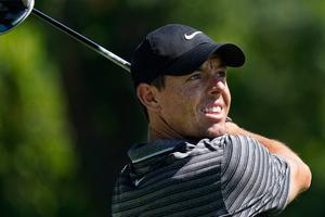 Rory McIlroy produced a fine seven under par 63 in his second round at the Charles Schwab Challenge.