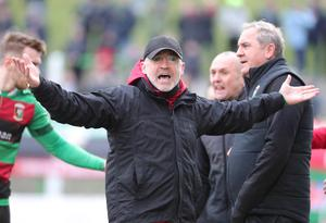 Was today the day Glentoran's title chase ended?