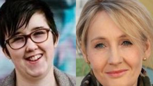 "JK Rowling said Lyra McKee was ""deeply talented"""