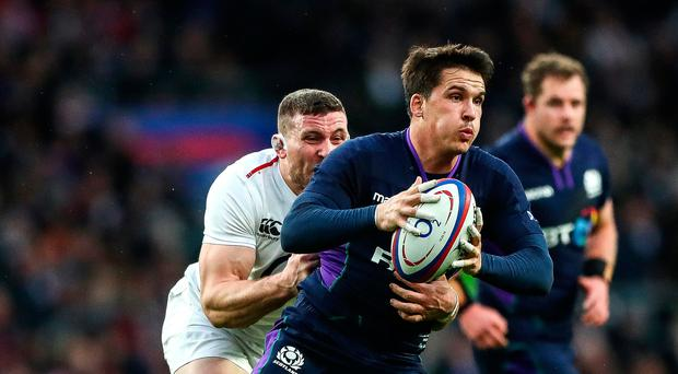 Tactics: Sam Johnson is sure he knows how Ireland will play