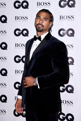 LONDON, ENGLAND - SEPTEMBER 05:  David Haye attends the GQ Men Of The Year Awards at the Tate Modern on September 5, 2017 in London, England.  (Photo by Gareth Cattermole/Getty Images)