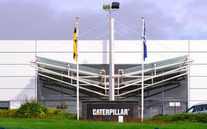 Caterpillar is one of firms which furloughed some staff
