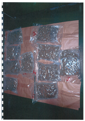 Cannabis recovered by the PSNI / Credit: PSNI