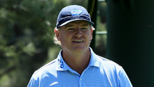 No regrets: Ernie Els finished at the foot of the field but was happy to have taken part in his 23rd Masters