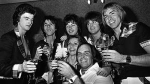 The Bay City Rollers in 1976 (PA)