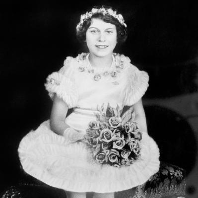 File photo dated 06/11/1935 of Princess Elizabeth (now Queen Elizabeth II) who turns 90 on the April 21st.