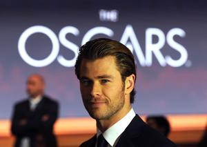 BEVERLY HILLS, CA - JANUARY 16:  Chris Hemsworth attends the 86th Academy Awards Nominations Announcement at the AMPAS Samuel Goldwyn Theater on January 16, 2014 in Beverly Hills, California.  (Photo by Kevin Winter/Getty Images)