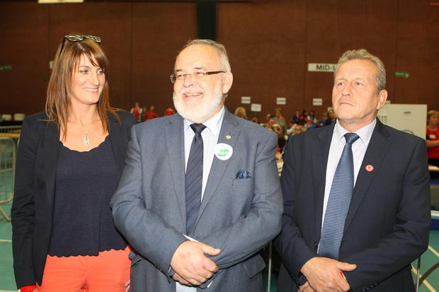 9 / 6 / 17 PACEMAKER PRESS Francie Molloy wins the Mid Ulster seat for Sinn Féin in the UK Parlimentary Election. PICTURE MATT BOHILL PACEMAKER PRESS