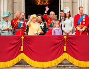 File photo dated 16/06/12 of Queen Elizabeth II (fourth from left) and members of the British royal family (from left to right) the Duchess of Cornwall, the Prince of Wales, the Earl of Wessex, the Princess Royal, the Duke of Edinburgh, the Duchess of Cambridge, the Duke of Cambridge on the balcony of Buckingham Palace during the annual Trooping the Colour parade, in central London. The Queen may be the head of state, but she is also a mother of four, grandmother to eight grandchildren and great-grandmother to five. PRESS ASSOCIATION Photo. Issue date: Sunday April 3, 2016. While she is familiar around the world to millions as a sovereign, it is the Windsors who know the real Elizabeth II, sharing precious family time behind closed doors. See PA story ROYAL Birthday Family. Photo credit should read: Dominic Lipinski/PA Wire
