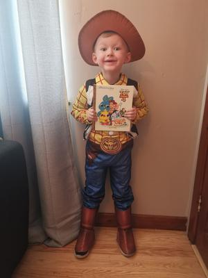 Alfie Maitland-McCarthy (5) from Downpatrick as Woody from Toy Story