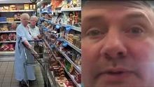 Nolan's mum told him off for following her around the supermarket with a camera