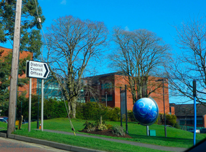 Mid Ulster District Council offices