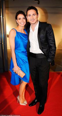 All round good egg: Frank Lampard and his wife Christine