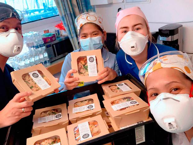 Meals for the NHS currently serves three Belfast hospitals