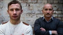 In the ring: Carl Frampton with former manager Barry McGuigan