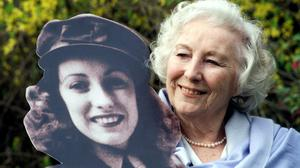 File photo of Dame Vera Lynn in the garden of the Savoy Hotel (Sean Dempsey/PA)