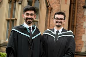 Saad Rehan and Mohammad Talha Mobbin graduated in Mechanical Engineering from the School of Mechanical and Aerospace Engineering at Queen's University Belfast.