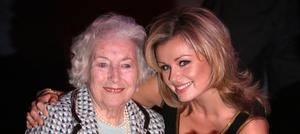 Katherine Jenkins (left) and Dame Vera Lynn have recorded a duet of We'll Meet Again, inspired by the Queen's address to the nation during the coronavirus crisis (Lewis Whyld/PA)