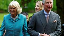 The Prince of Wales and the Duchess of Cornwall arrive at the National University of Ireland in Galway, Ireland, where he is to meet Sinn Fein president Gerry Adams in a historic encounter.