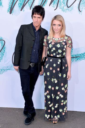 Johnny Marr with daughter Sonny