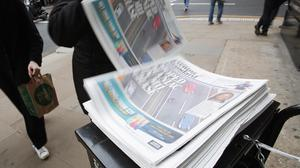 The Evening Standard will be delivered to homes (Yui Mok/PA)