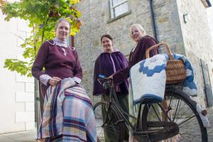 Residents of Caledon take part in a recent Georgian festival in the village