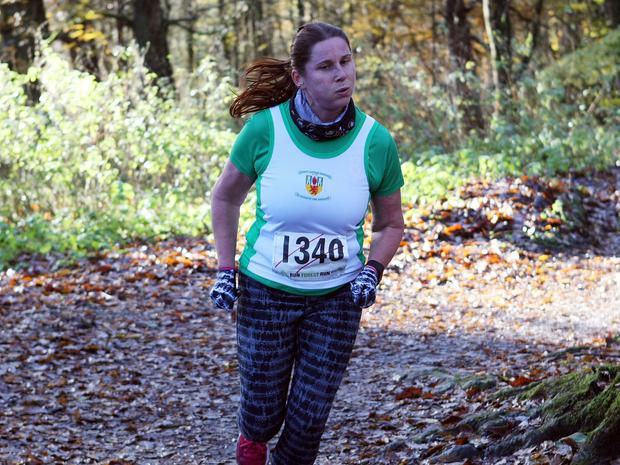 Mandatory Credit - Picture by Freddie Parkinson/Press Eye © Saturday 19th November 2016 Belfast Telegraph Run Forest Run Drum Manor Forest Park, Drum Road, Cookstown BT80 9RT Tanya Smith from Crumlin