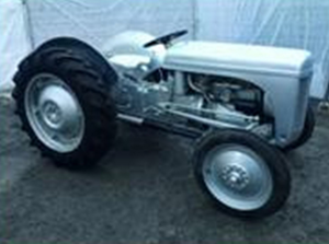 One of the extensive collection of classic tractors to be auctioned in Dromore