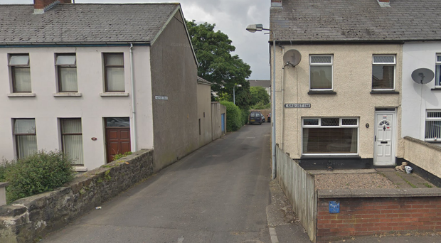 The woman was stabbed at a house in the Hawthorn Terrace area. Credit: Google