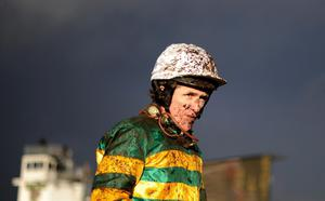 Exeter Races...EXETER, ENGLAND - FEBRUARY 10: Jockey Tony McCoy poses at Exeter racecourse on February 10, 2013 in Exeter, England. (Photo by Alan Crowhurst/Getty Images)...S