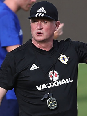 Game plan: Michael O'Neill oversees training in Panama