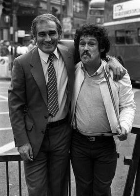 Tommy Cannon with Bobby Ball (PA)