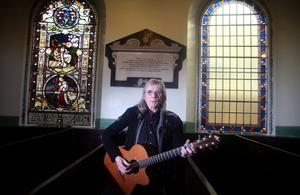 Henry McCullough pictured in Rosemary Street First Presbyterian Church. Pic David Fitzgerald