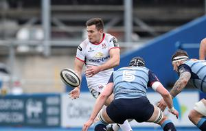 Ulster's Jacob Stockdale. Pic ©INPHO/Billy Stickland