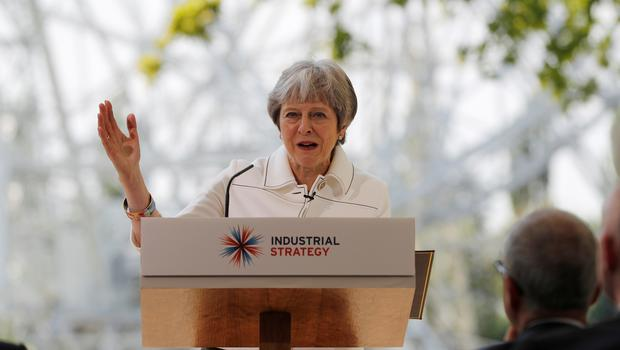 The Prime Minister addressed the issue as she visited Jodrell Bank (Darren Staples/PA)