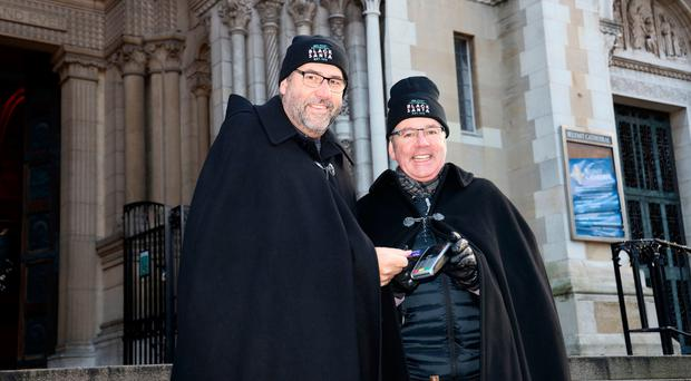 Dean Forde with the Archdeacon of Belfast George Davison
