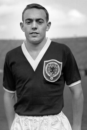 Ian St John won 21 caps for Scotland, scoring nine goals (PA)