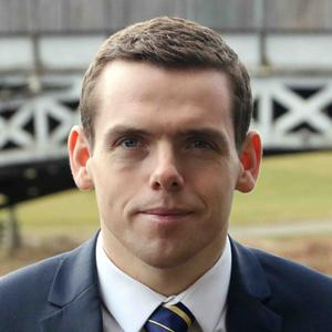 The UK Government's Scotland Office minister Douglas Ross apologised for their role in delaying the lockdown (P Bloomfield/PA)