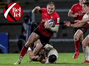 Jacob Stockdale in action against Toulouse.