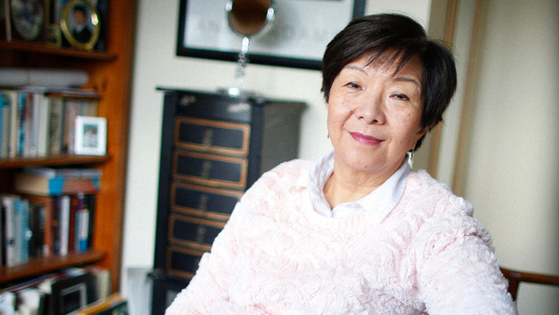 Anna Lo at home in Holywood