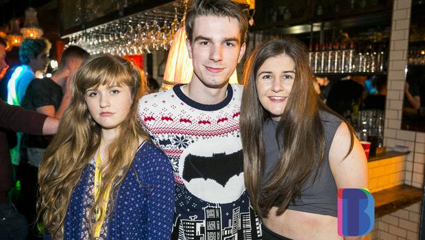 People out at LUX for Fat Xmas Jumper Party. Wednesday 6th December 2017. Picture by Liam McBurney/RAZORPIX ©