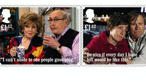 Coronation Street stamps created to mark the show's 60th anniversary (Royal Mail/PA)