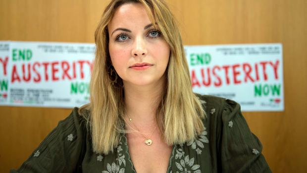 Charlotte Church is set to address the crowds