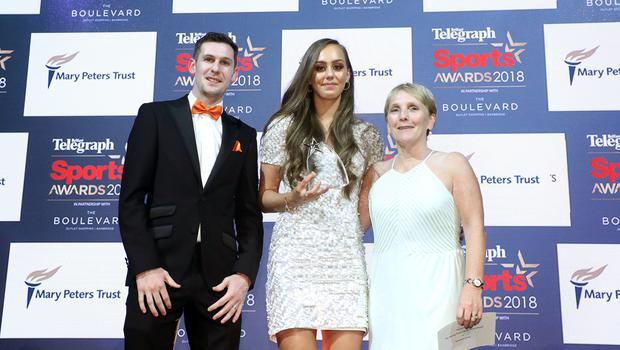 Sommer Lecky was named Young Sports Star of the Year for 2018.