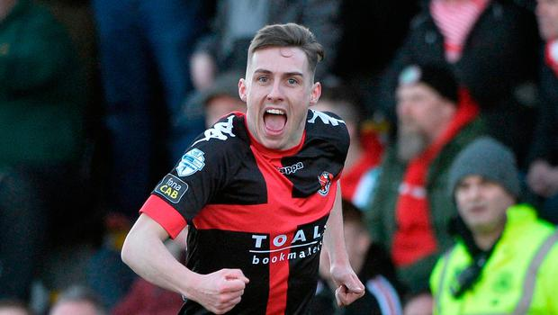 Wanted man: Gavin Whyte is on the radar of full-time clubs