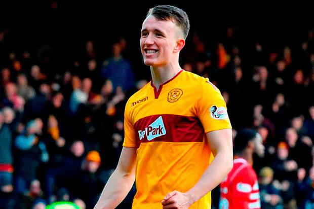 Potential: David Turnbull has been superb for Motherwell