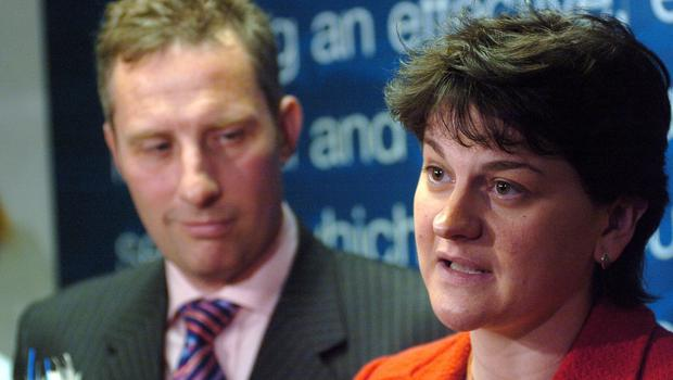 Arlene Foster and Ian Paisley