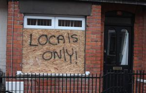 The homes of three Polish families were attacked in east Belfast last week